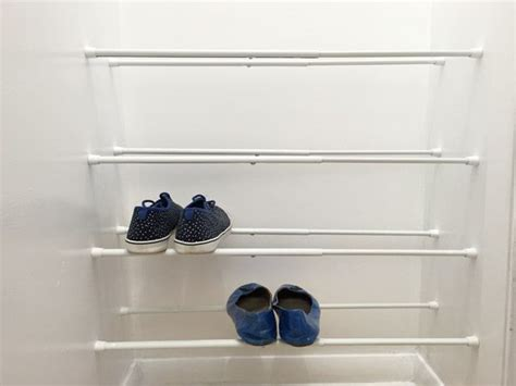 Tension Rod Shoe Rack by 46 Best Images About Closet Ideas On Closet Organization Hgtv Home 2016 And