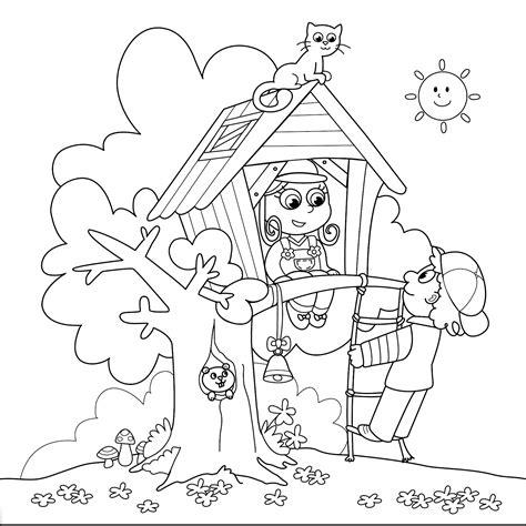 dibujos para colorear pdf desenhos de casa na 193 rvore para colorir desenhos para