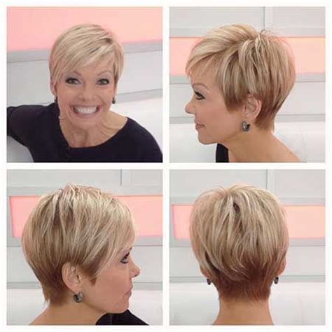 2015 cute spring cuts for mature women pixie haircuts for 60 ladies short hairstyle 2013