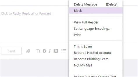 yahoo email block sender how to block emails in gmail outlook yahoo and icloud