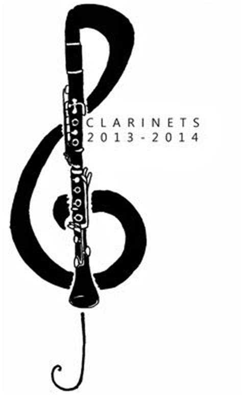 tattooed heart clarinet clef music music notes vector art download music vectors