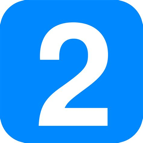 one east blue 1 2 3 file number 2 in light blue rounded square svg wikimedia