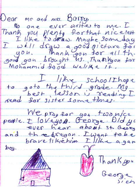 appreciation letter to child s 28 images appreciation