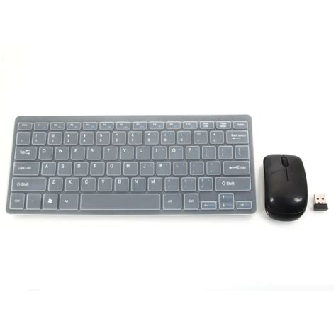 Keyboard Mouse Komputer New 2 4g Wireless Keyboard With Optical Mouse Combo Black