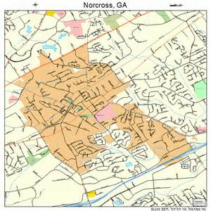 where is norcross on the map norcross map 1355776