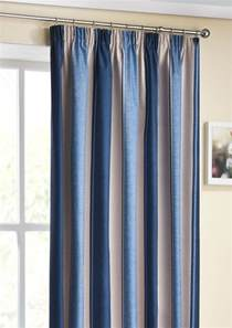 Navy Thermal Curtains Twilight Navy Thermal Pencil Pleat Curtains