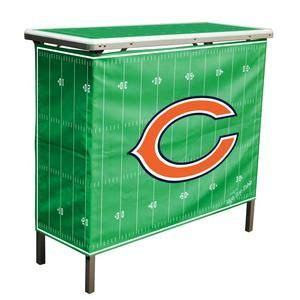 high tops bar chicago chicago bears nfl tailgating portable high top bar buffet folding table folding
