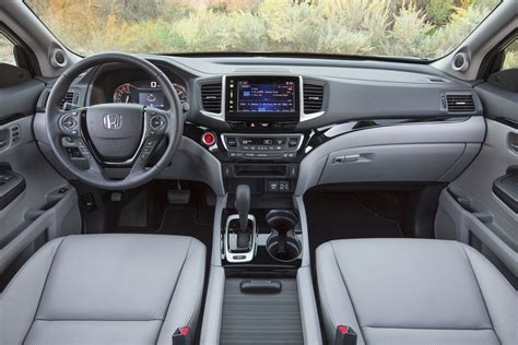 Ridgeline Interior by 2017 Honda Ridgeline Look