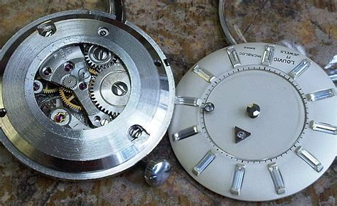 #5377 Very rare two faced Louvic reversible watch circa 50/60?s ? A Trebor's Vintage Watches