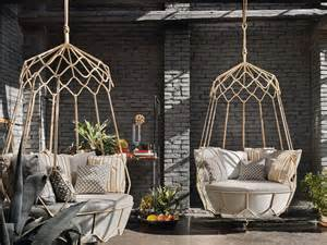 Designed by technical emotions the gravity garden hanging chair is