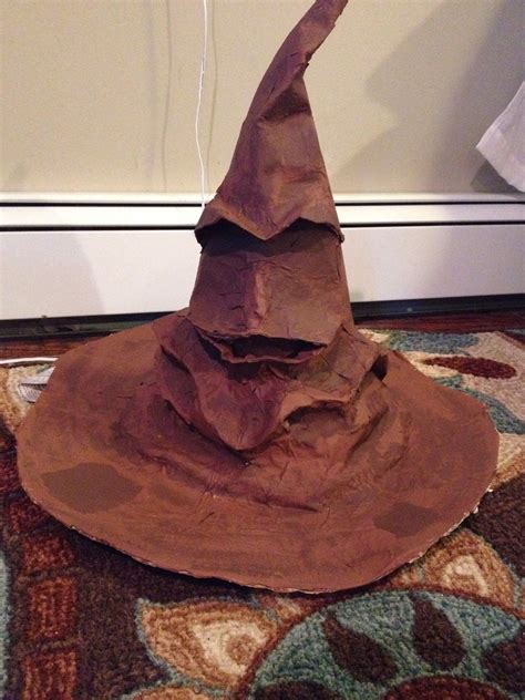 how to make a harry potter sorting hat arts and crafts