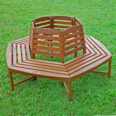 outdoor trunk bench international caravan sectional tree trunk 6 ft wood park
