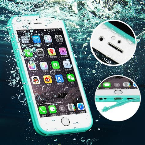 full coverage water resistant waterproof case  coque iphone       se soft tpu