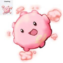 chansey koffing pokemon fusion redrawn by candichu on
