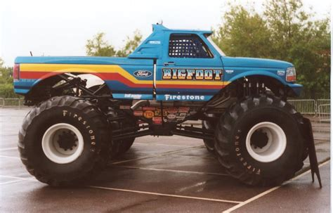 first bigfoot monster truck top ten legendary monster trucks that left huge mark in