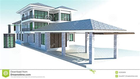 the home source future residential house with huge outer battery energy