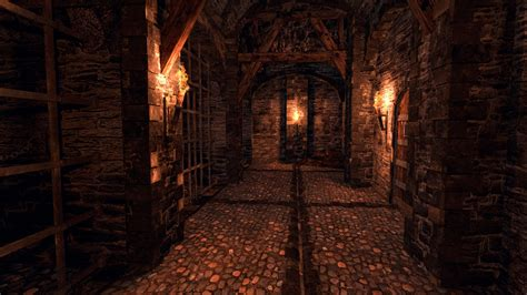 dungeon si鑒e 3d model dungeon modular vr ar low poly obj