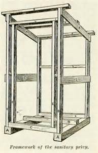 Completely Open Floor Plans Build An Outhouse Privy With Plans From 1909 Well