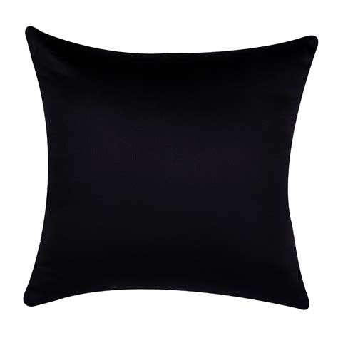 Black Throw Pillow Covers   Home Furniture Design