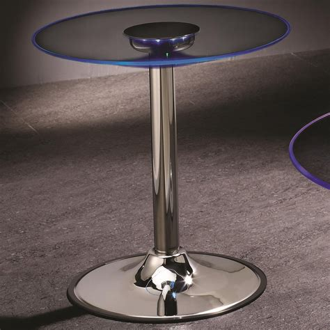 silver and glass end tables coaster 701497 silver glass end table a sofa