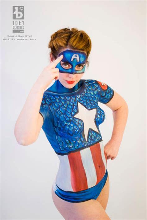 a pint of captain captain america paint