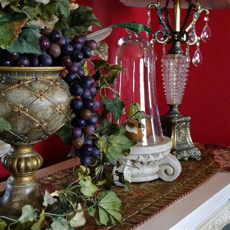 fall ideas for dining room decorating in english country style