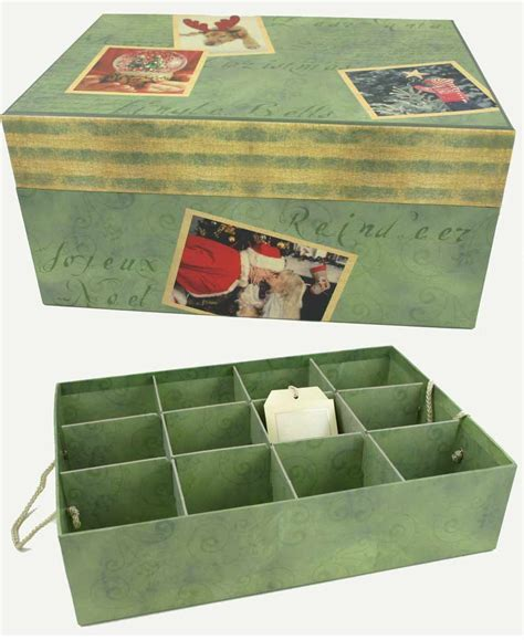 ornament storage bins beautiful memories ornament storage box with