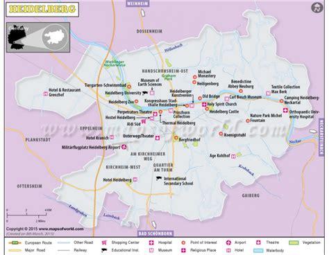 map heidelberg germany buy heidelberg map