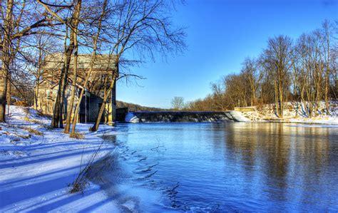 Uw Finder Crawfish River Landscape Near Elba Wisconsin 17 155 Dam Landscape Nature