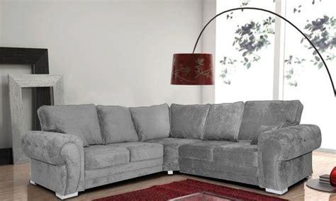 verona grey corner sofa groupon
