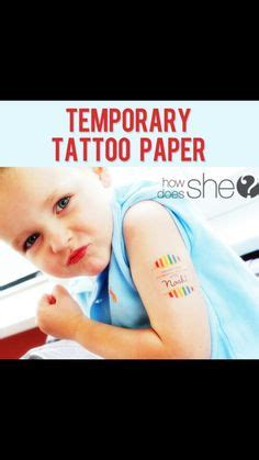 temporary tattoo paper youtube inkjet tattoo paper make your own tattoos and body art