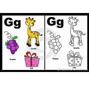 Letter G Worksheet Royalty Free Stock Image  24255066