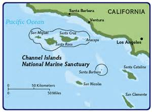 channel islands california map california creates channel islands marine reserves