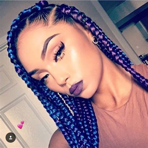 good braid color combos braid color combo inspiration for summer makeup och