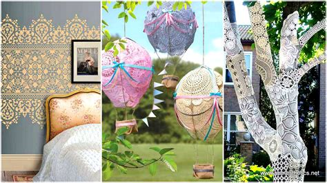 diy beautiful 22 charming and beautiful lace diy projects to realize at home