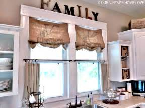our vintage home inexpensive window treatments and a