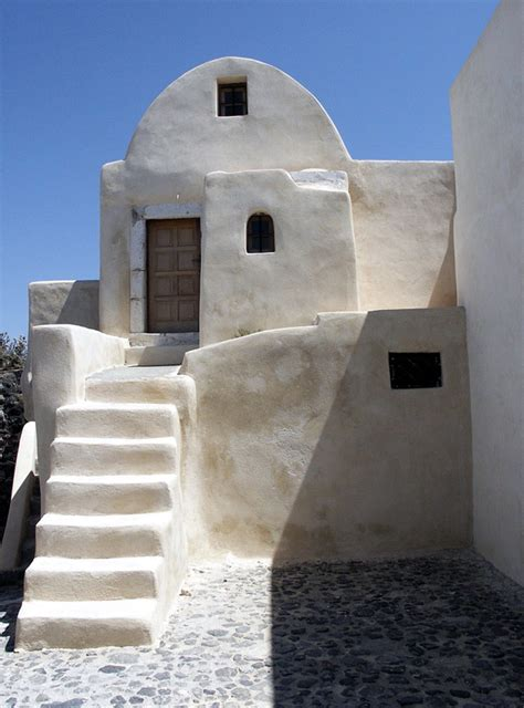 Small Architects House Santorini Traditional House On Santorini A Photo From Kyklades