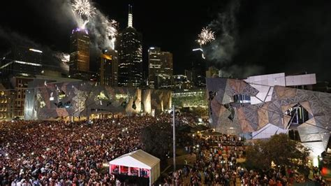 new year melbourne fed square happy new year into 2014