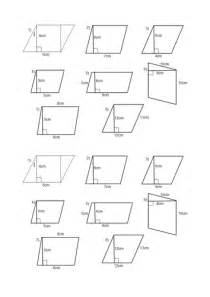 area of a parallelogram and trapezium lesson by