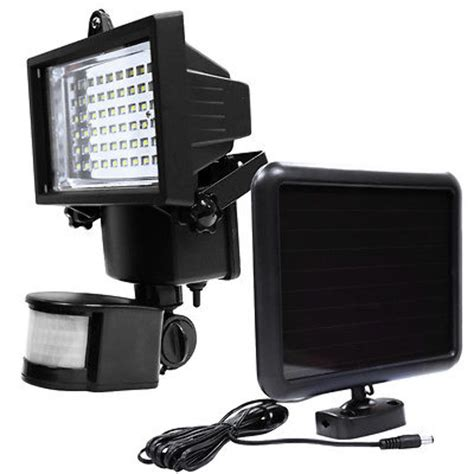 solar garage lights led solar powered motion sensor security flood light
