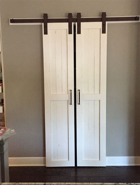 Barn Doors For Pantry Sliding Barn Door Style Pantry Doors Door Only By Russbuilders