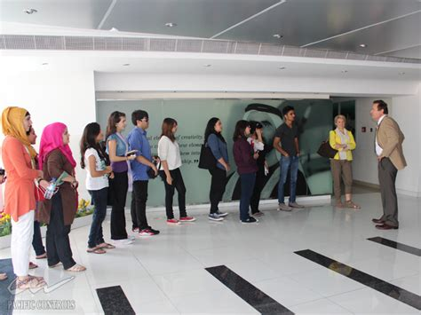 Heriot Watt Dubai Mba by Heriot Watt Univeristy Dubai Cus Visits Pacific Controls