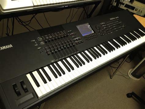 Keyboard Yamaha Motif yamaha motif xf8 keyboard synthesizer if i had a secret underground playroom