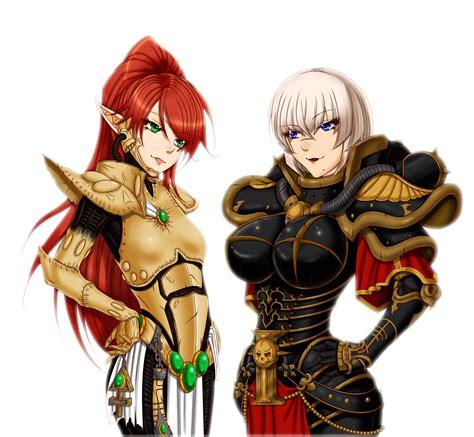 Anime 40k by Warhammer 40k Banshee Vs By Iforher On Deviantart