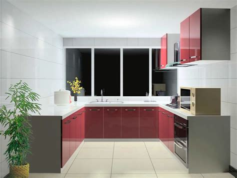 red lacquer kitchen cabinets red lacquer kitchen cabinet in white and grey color scheme