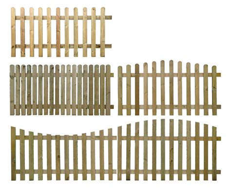 fencing sections pressure treated wooden picket fence panel 6ft sections