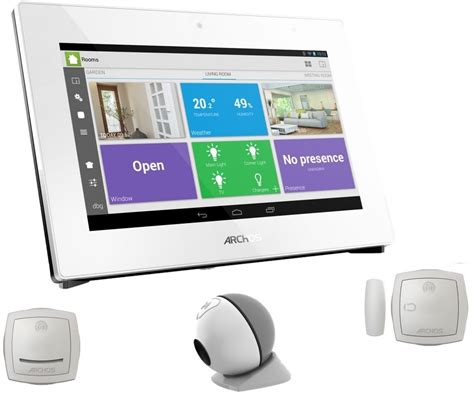 best smart products smart home products archos smart home starter pack 502660