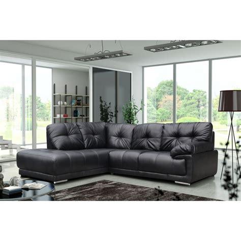 amazing black leather large corner sofa localfurniturestore