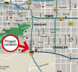 map chandler arizona santan technology park chandler arizona area maps