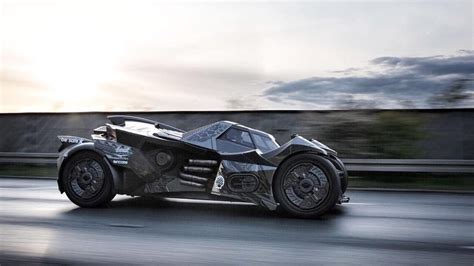 Lamborghini Batmobile Custom Lamborghini Based Batmobile Is Rallying Across Europe